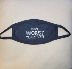2020 Worst Year Ever Mask